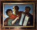 Charles mellin (attr.), tre teste virili, 1600-50 ca.jpg