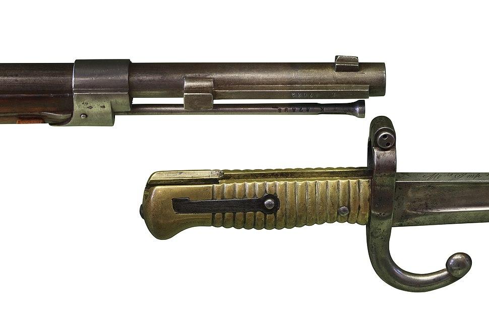Chassepot bayonet assembly