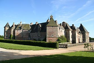Orne - Image: Chateau Carrouges