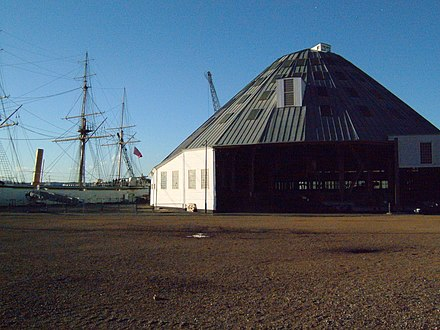 Slip 3 at Chatham Dockyard, designed and built by the Corps - Royal Engineers
