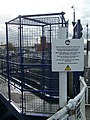 Chatham Maritime Marina Yacht lock footbridge - geograph.org.uk - 1040005.jpg
