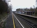 Chelsfield station look south.JPG