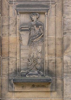 Elbe Sandstone - Image: Chemnitz Jakobikirche Relief 2