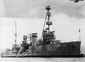 Лёгкий крейсер «Червона Украина», 1935 год.