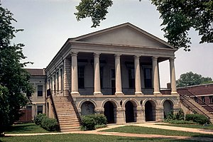 Chester, South Carolina - Chester County Courthouse, built in 1852