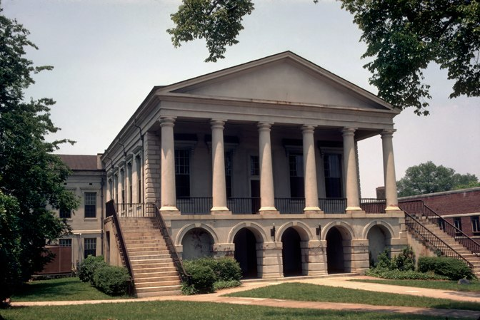 Chester County Courthouse, built in 1852