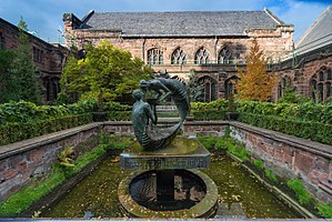 Chester Cathedral - The garden
