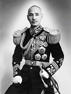 Chiang Kai-shek Chinese politician and military leader (1887–1975)