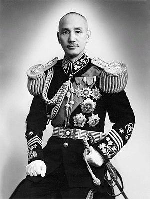 Chiang, Kai-shek