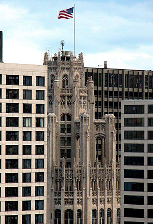 Tribune Building Chicago.