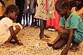 Children participate in hygiene learning sessions inside UN House, Juba, South Sudan (12317380903).jpg