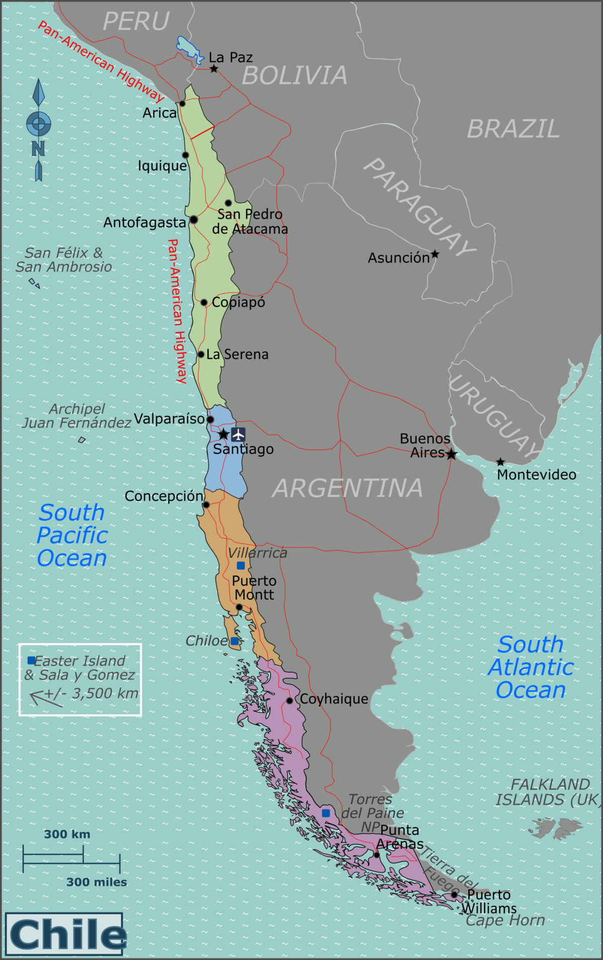 Chile Travel Guide At Wikivoyage