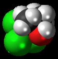 Chlorobutanol 3D spacefill.png