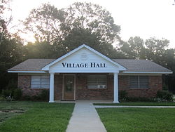 Choudrant, LA, Village Hall IMG 0105.JPG