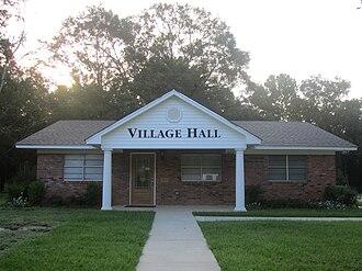 Choudrant, Louisiana - Choudrant Village Hall