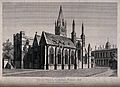 Christ Church, Oxford; cathedral. Etching by J. Coney, 1817, Wellcome V0014078.jpg