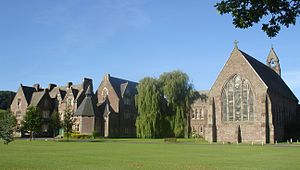 Christ College, Brecon - Image: Christ College Brecon