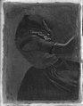 Christen Dalsgaard - Dragt- og bevægelsesstudie af en ung kvinde i bondedragt - KMS7427 - Statens Museum for Kunst.jpg