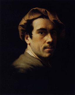 Christian Seybold - Self-Portrait as a Young Man - WGA21172