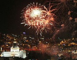 Christmas Eve in Nazareth.