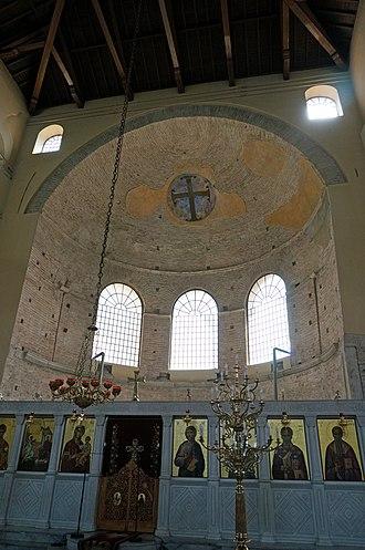 Church of the Acheiropoietos - Interior