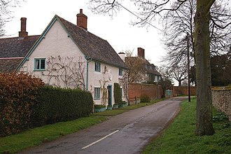 Cardington, Bedfordshire - Image: Church Lane, Cardington geograph.org.uk 724874