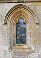 Church of St Andrew, Boothby Pagnell, Lincolnshire, England - Porch east window.jpg