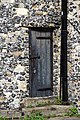 Church of St Nicholas, Ash-with-Westmarsh, Kent - tower stair turret door.jpg