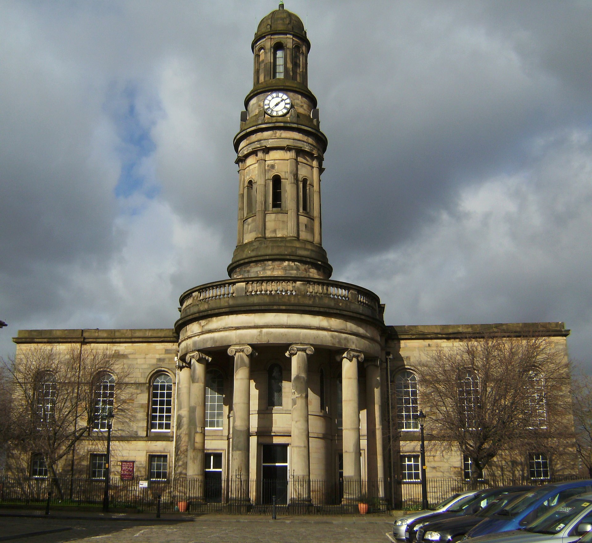 Salford Cathedral: St Philip's Church, Salford