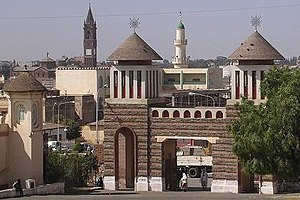 Religion in Eritrea - Enda Mariam Orthodox Church, Church of Our Lady of the Rosary and the Al Khulafa Al Rashiudin Mosque in the capital Asmara.