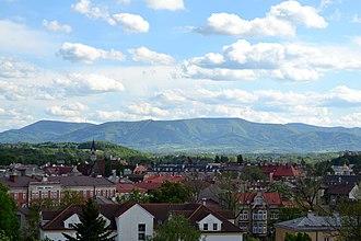Cieszyn - Panorama of Cieszyn