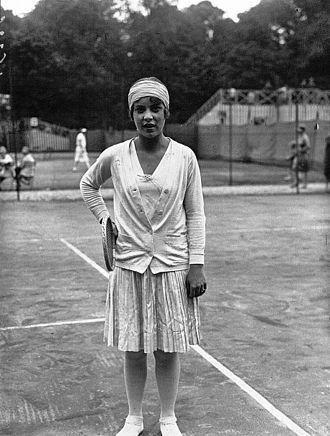 Cilly Aussem - Aussem in 1927