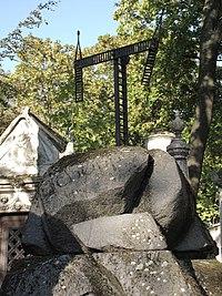 Cimetière du Père Lachaise tombe de Claude Chappe.jpg