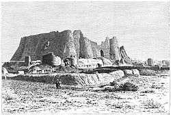 Citadel of Varamin by Jane Dieulafoy.jpg