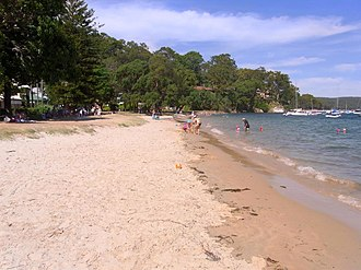 Clareville, New South Wales - Image: Clareville Beach