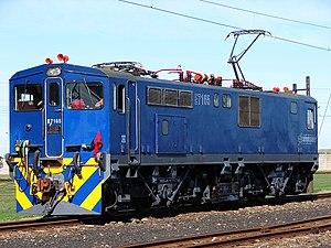 South African Class 7E2, Series 1 - No. E7165 at Swartkops, Port Elizabeth, 22 April 2013