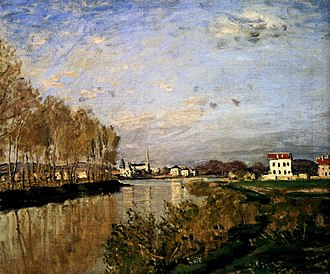 Argenteuil - The Seine at Argenteuil, 1873 by Claude Monet