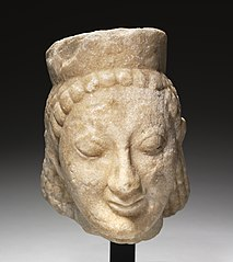 Head of a Sphinx (1928.858)