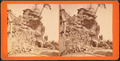 Cliff over Alum Spring, at top of Mountain, by J. B. Linn.png