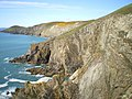Cliffs below the Coastal Path - geograph.org.uk - 1254124.jpg
