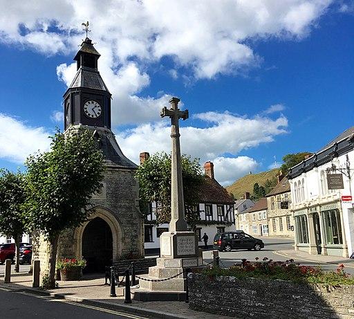 Clock Tower, Mere, Wiltshire, UK