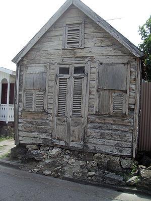 Chattel house - Bridgetown, Barbados.