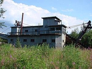 National Register of Historic Places listings in Yukon–Koyukuk Census Area, Alaska - Image: Coal Creek Dredge