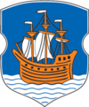 Coat of Arms of Połack, Belarus.png