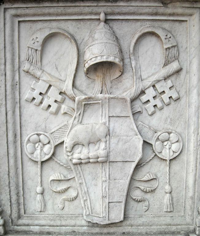 plikcoat of arms of pope alexander vi borgia castel