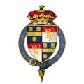 Coat of Arms of Sir John de la Pole, 2nd Duke of Suffolk, KG.png