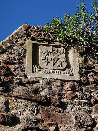 Archibald Robertson (bishop) - Image: Coat of arms, Exeter city wall geograph.org.uk 1120613