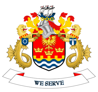 North Tyneside - Image: Coat of arms of North Tyneside Metropolitan Borough Council
