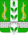 Coat of arms of Oktiabrskoye municipality (Tuapse, Krasnodar).png