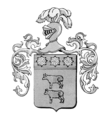 Coat of arms of the Carrera family.png